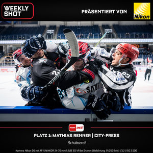 Nikon und die PENNY DEL rufen zur Wahl des besten Eishockey-Fotos der Saison 2020/21 auf