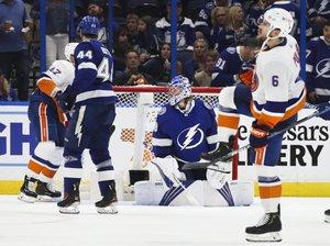 Barzal und Pulock treffen, Varlamov hält: Islanders gewinnen erstes Halbfinale in Tampa Bay