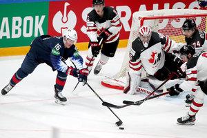 Chance auf Goldmedaille Nummer 27: Andrew Mangiapane führt Kanada mit einem Doppelpack zu einem 4:2-Erfolg über Team USA