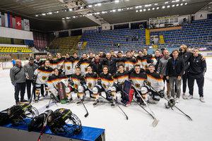 Deutsches U18-Nationalteam beendet den Hlinka Gretzky Cup auf dem siebten Platz
