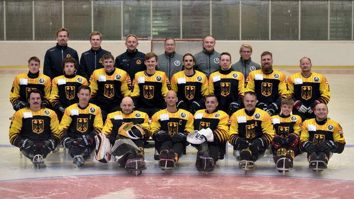 Deutsches Para-Eishockeyteam: Der Aufstieg soll es werden