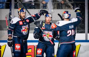 Souveräne Pflichtsiege für den EHC Red Bull München und die Adler Mannheim gegen Vojens beziehungsweise Cardiff